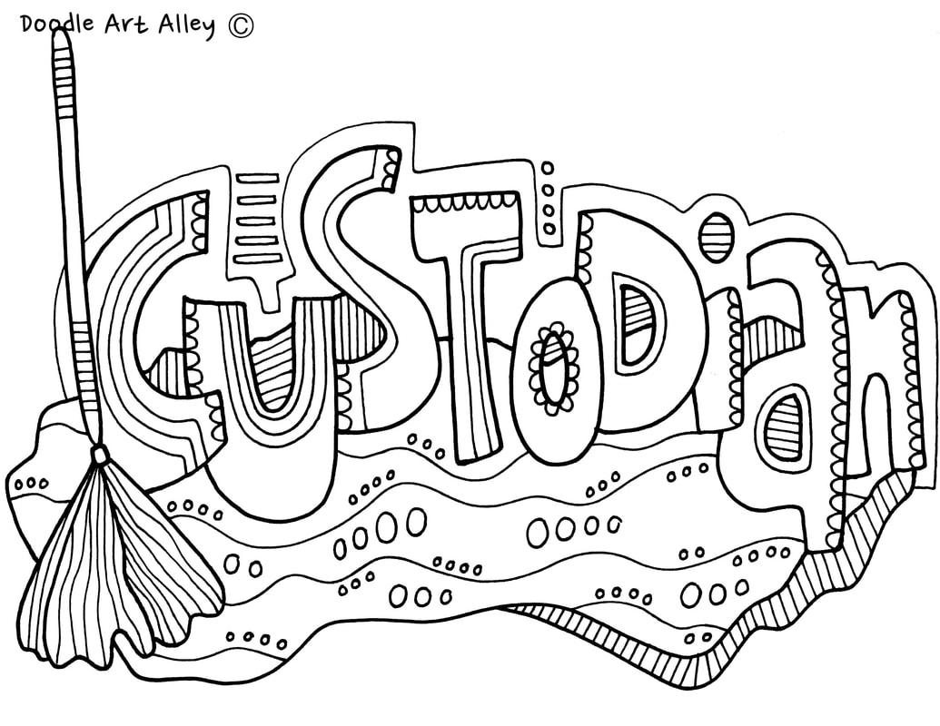 The School Community Classroom Doodles