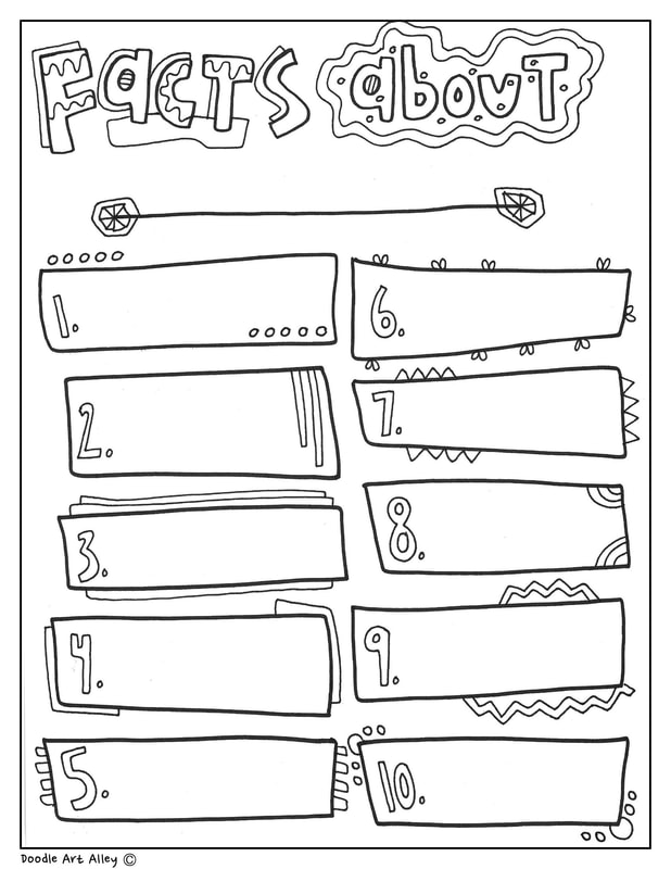 Black History Month Printables Classroom Doodles