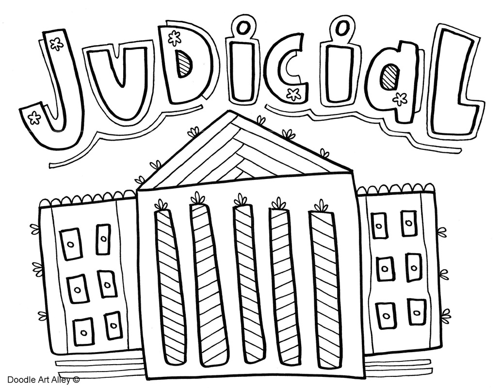 Branches Of Government Coloring Pages And Printables