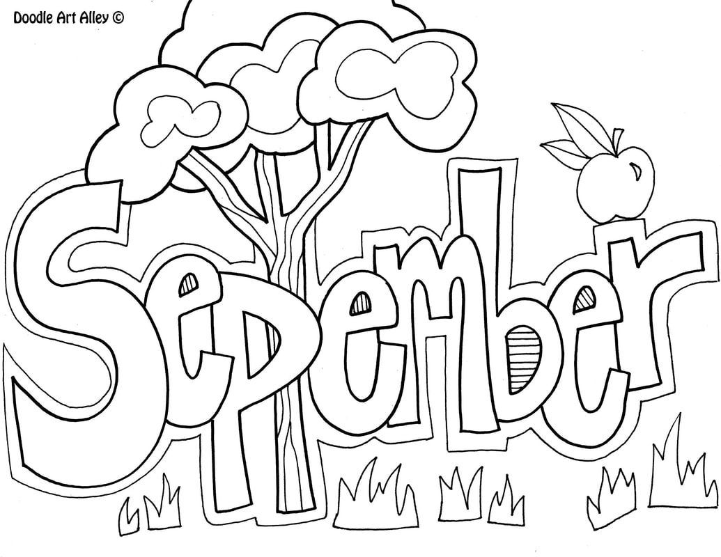 September Classroom Doodles