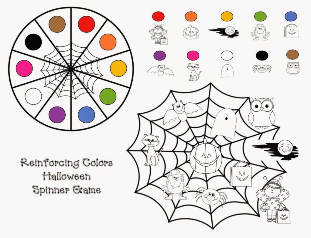 Common Core Halloween Colors Activity Packet