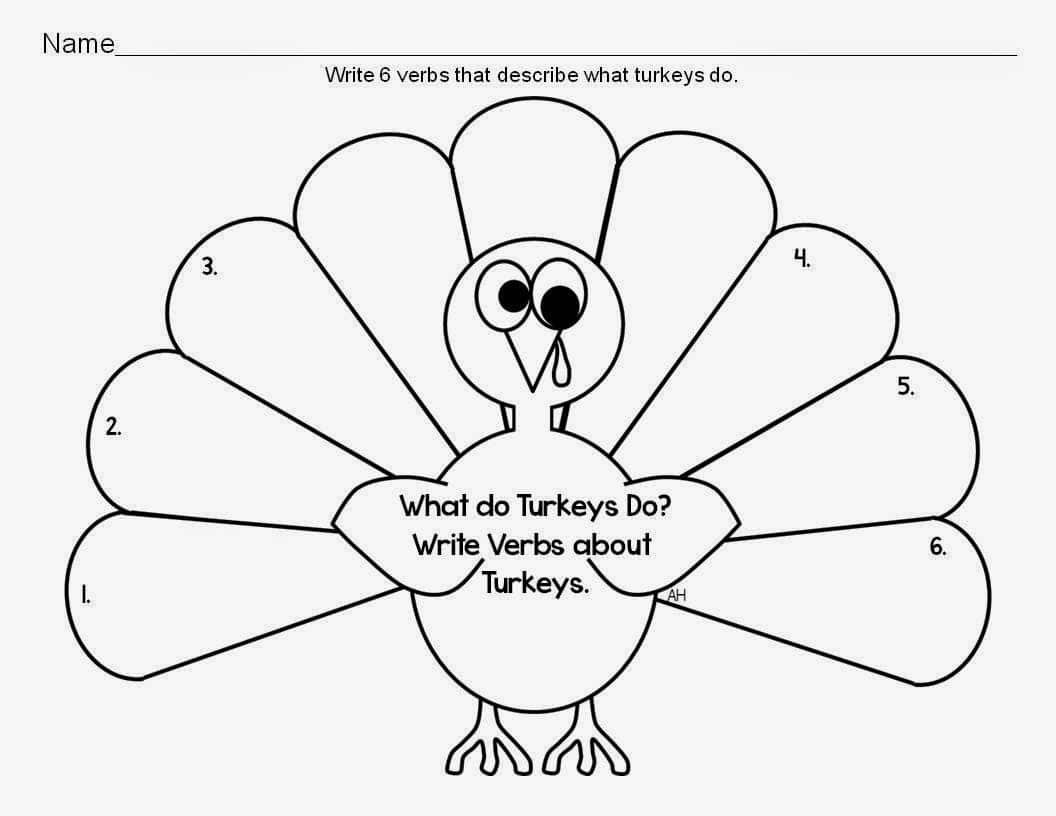 Turkey Activity Packet