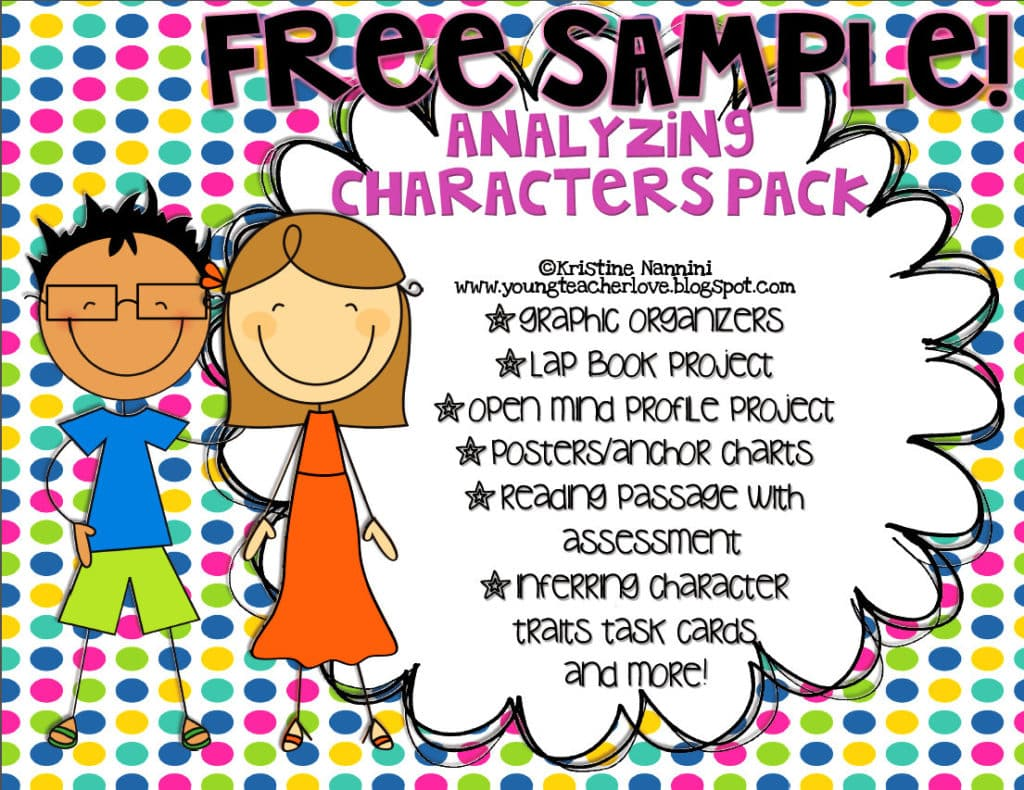 Inferring Character Traits Freebie