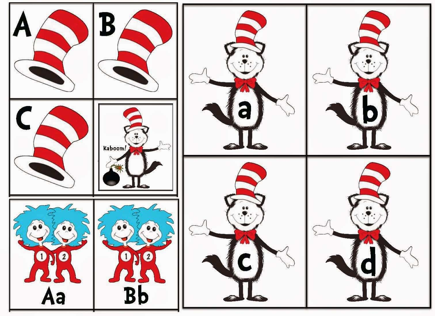 Dr Seuss Cat In The Hat Activities