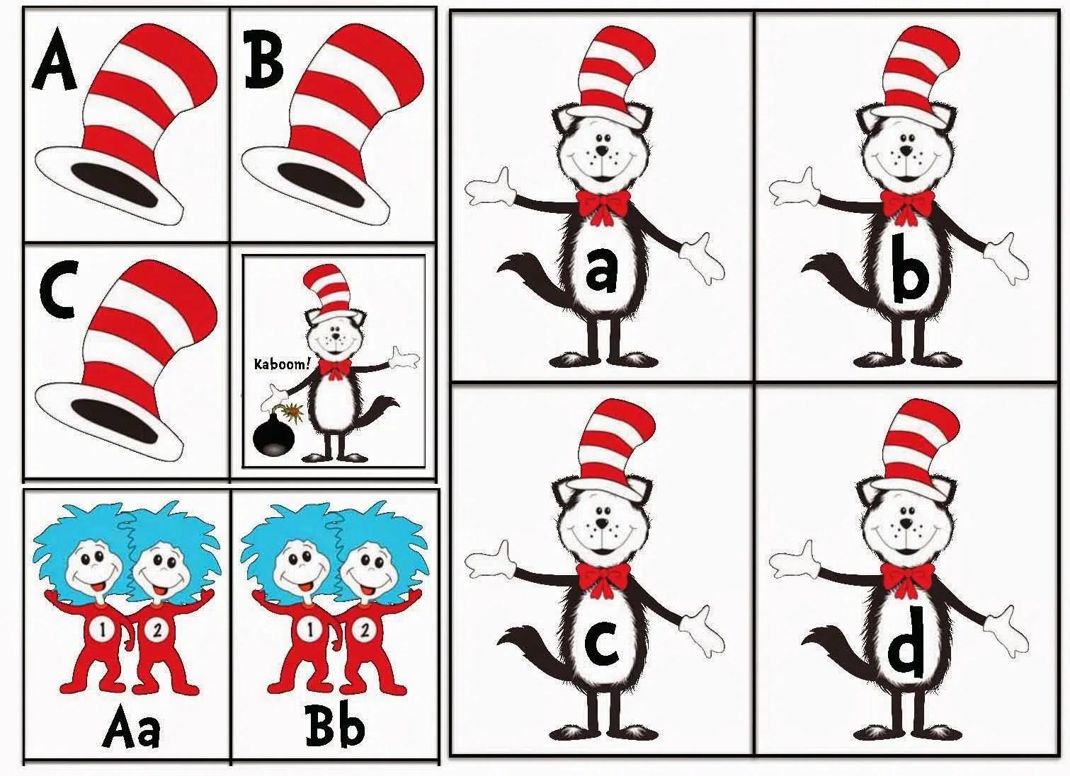 Dr Seuss Cat In The Hat Activities