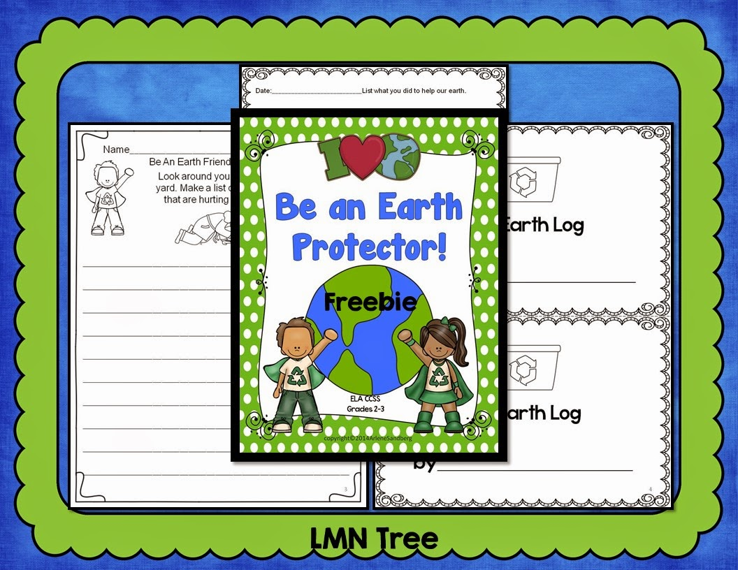 Earth Day Journal Writing Activity Packet
