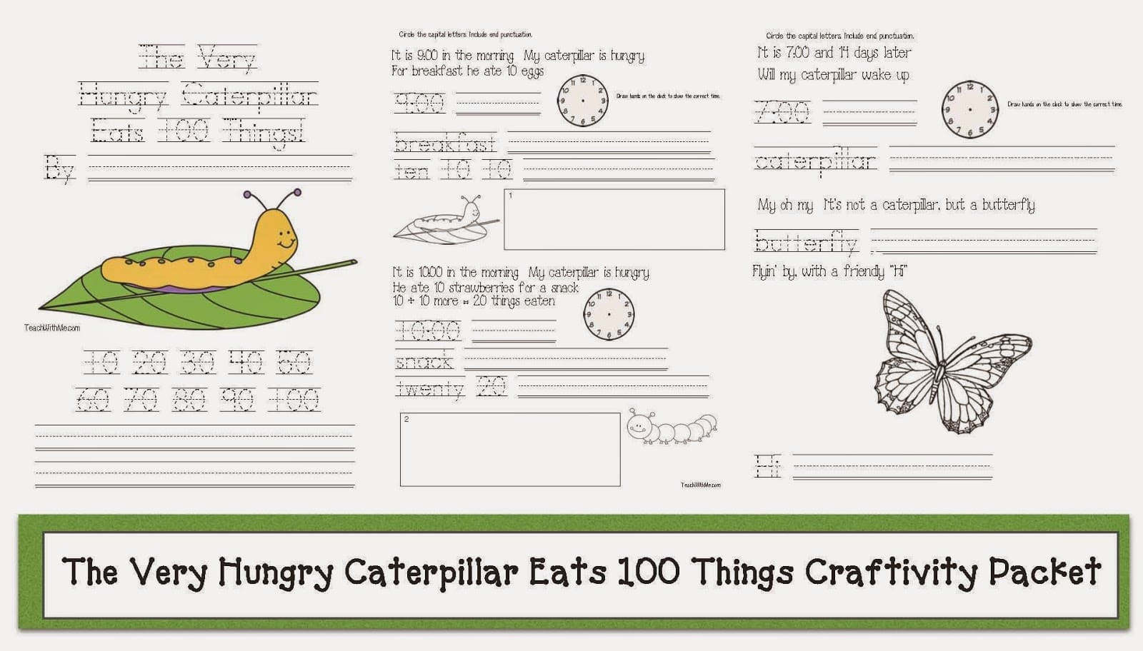 The Very Hungry Caterpillar Emergent Reader