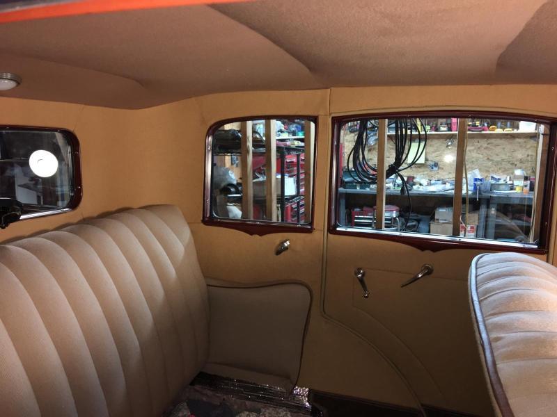 Model A Fordor Interior