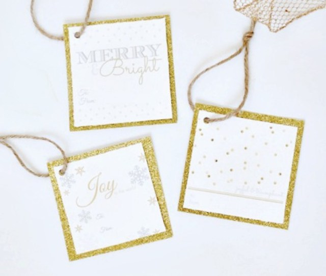 Free Christmas Gift Tags  Printable Designs