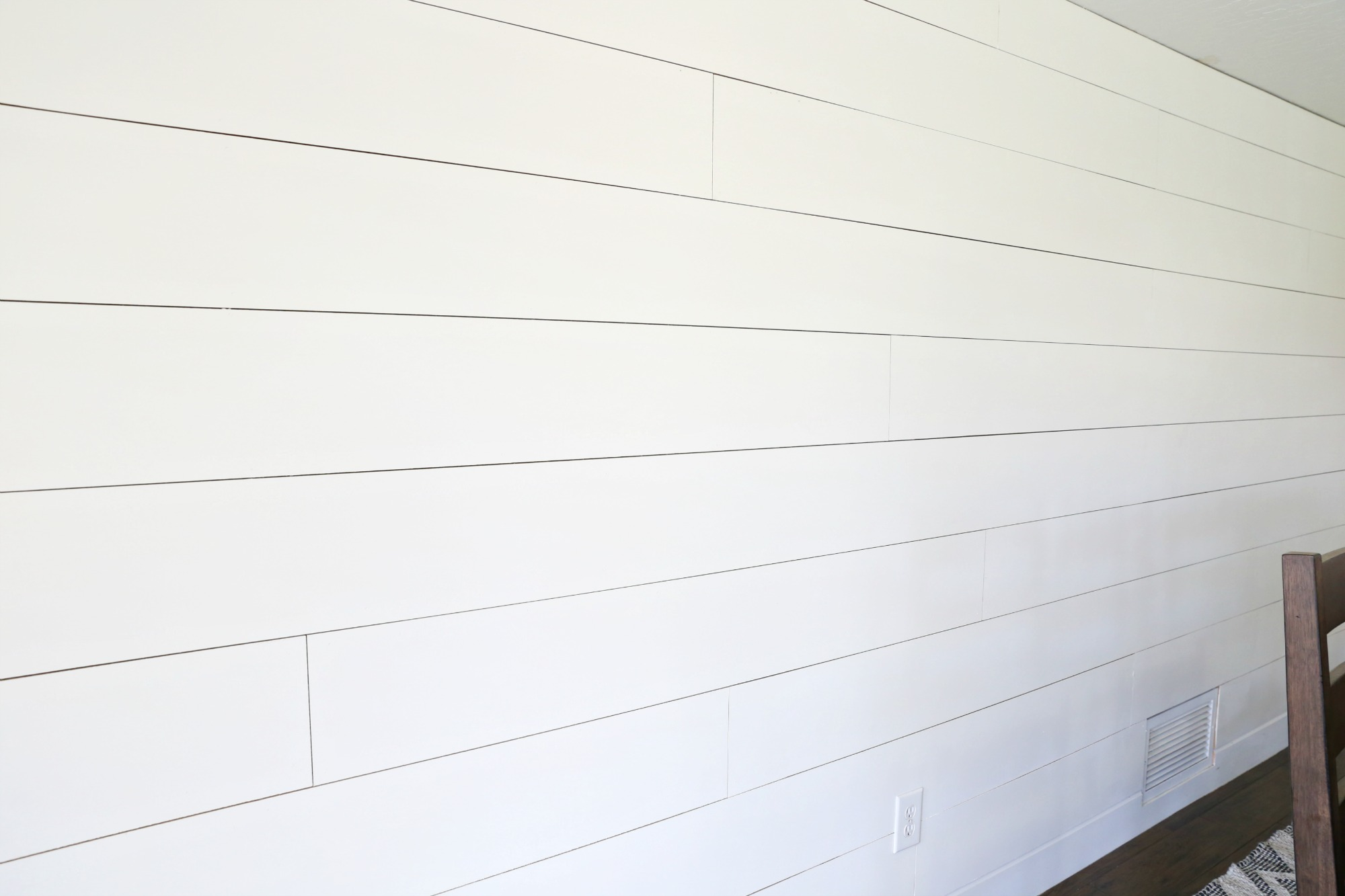 HOW TO Shiplap A Wall The Easy Way Use Our Tutorial To