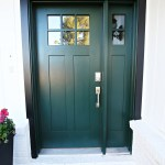 Modern Ranch Reno New Front Door And Hardware Classy Clutter
