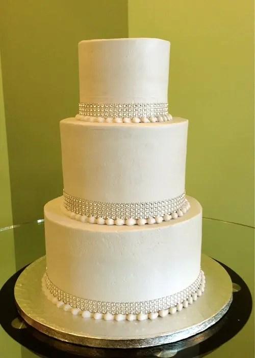 Crystal Wedding Cake Classy Girl Cupcakes