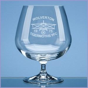 Engraved Brandy Glasses