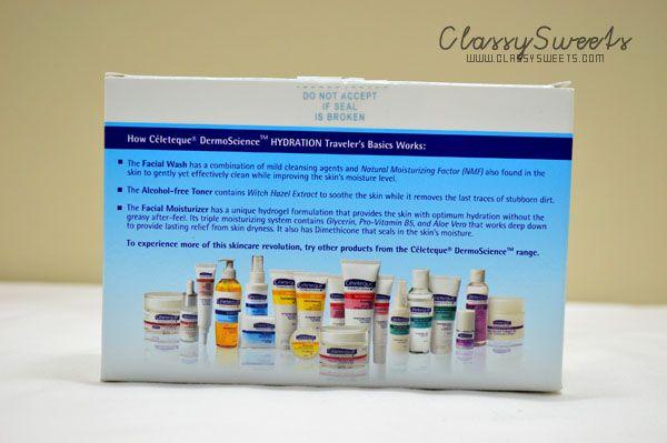 Celeteque DermoScience Hydration Traveler's Basics