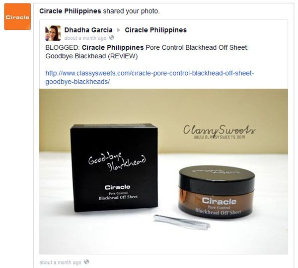Press: Feautred at Ciracle Philippines | Facebook