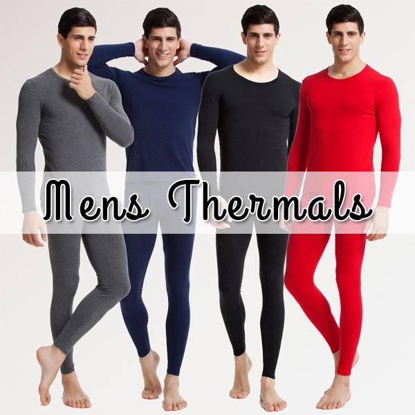 Ride Out The Winter With Mens Thermals