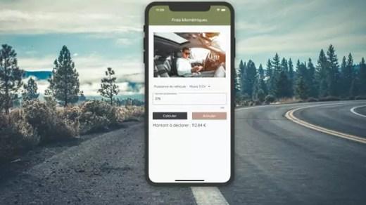 Aperto App - Application mobile Calcul Indemnités kilométriques