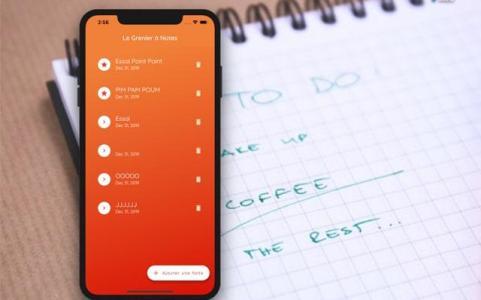 Application mobile : Liste de tâches