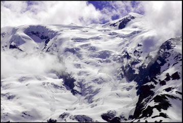 Le Mont Pourri, ses glaciers