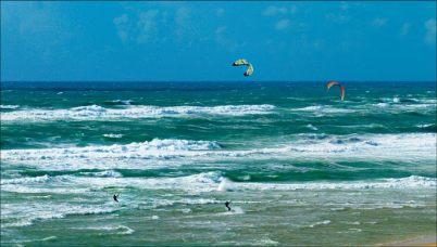 Kite-surf à Messanges