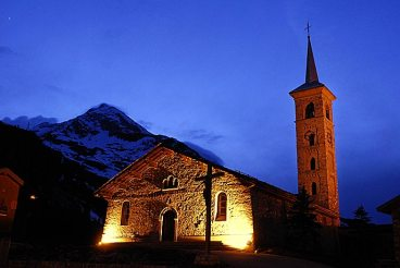 Eglise de Tignes 1800