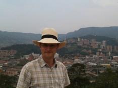 Mathias in Medellín