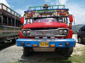 Bus bei Peñon de Guatapè