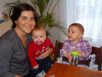 Claudia Tim und Laura Maria