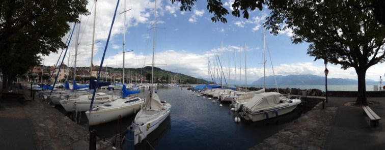 Lutry am Genfersee