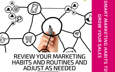 Review Your Marketing Habits and Routines and Adjust as Needed