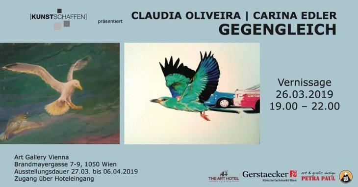 Ausstellung Gegengleich ab 26. 3. 2019