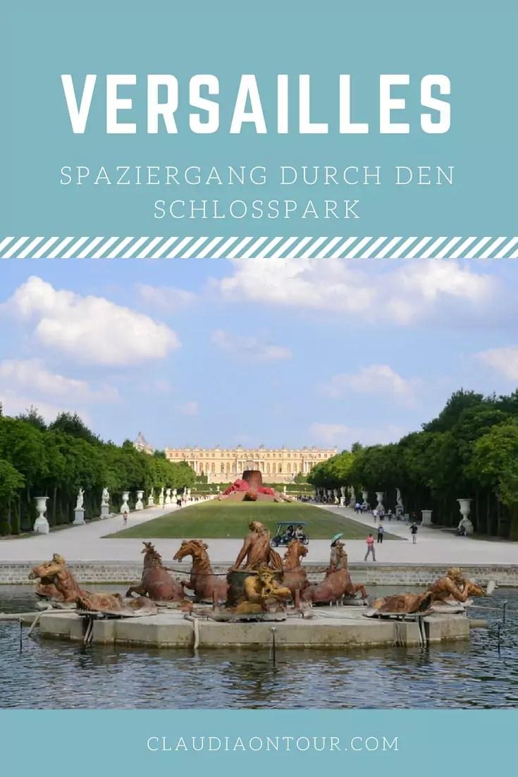 Der Schlosspark von Versailles