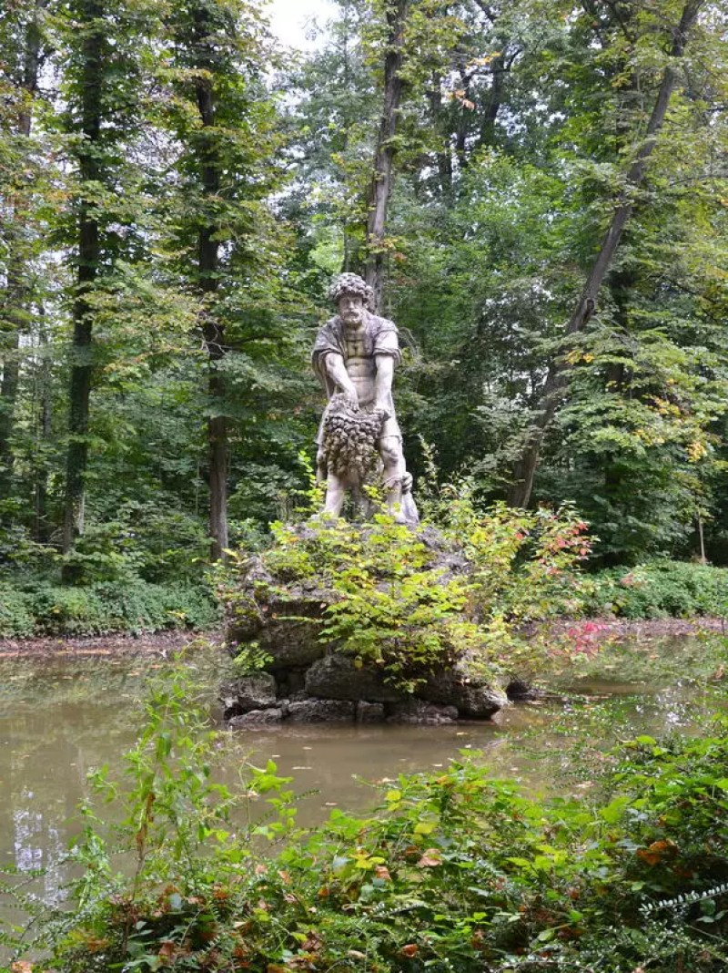 Brunnen Schloss Leopoldskron