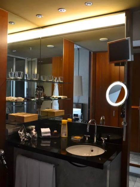 Badezimmer Grand Hyatt