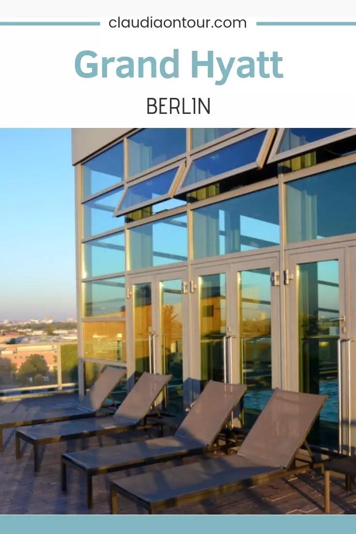 Hotel Grand Hyatt in Berlin. Tolles Haus mit großartigem Spa Bereich