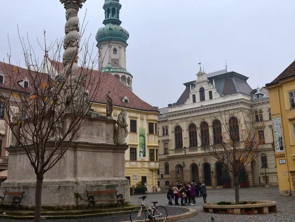 Sopron, zwei Stunden und 10 000 Schritte