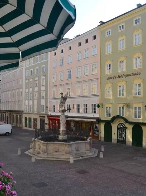 Ausblick auf den Alten Markt