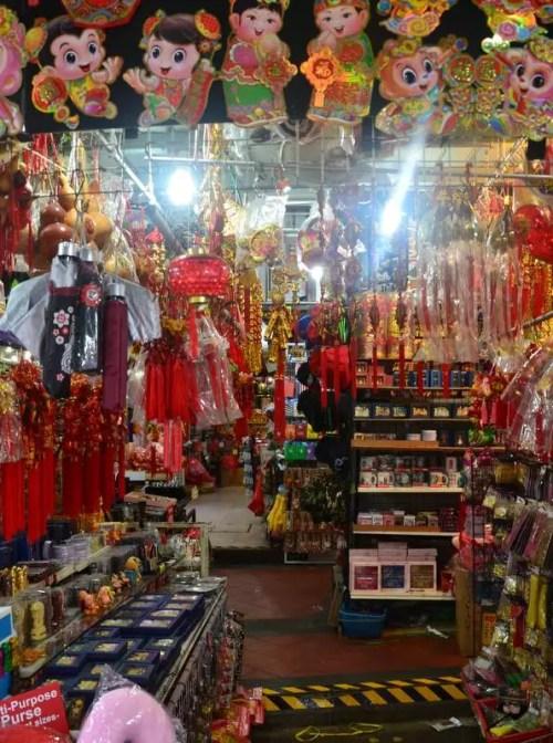 Trödelladen Chinatown