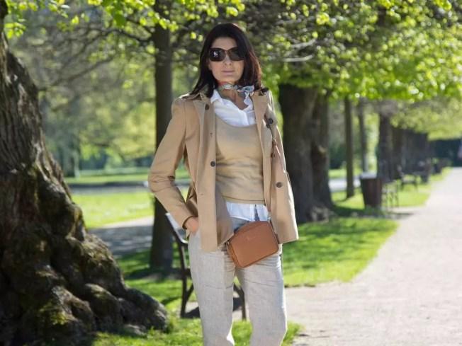 Fashion on Tour; Beige in Hellbrunn