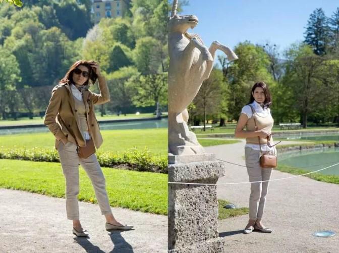 Hellbrunn Mode beige