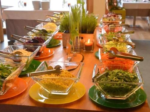 Salatbuffet Arosea