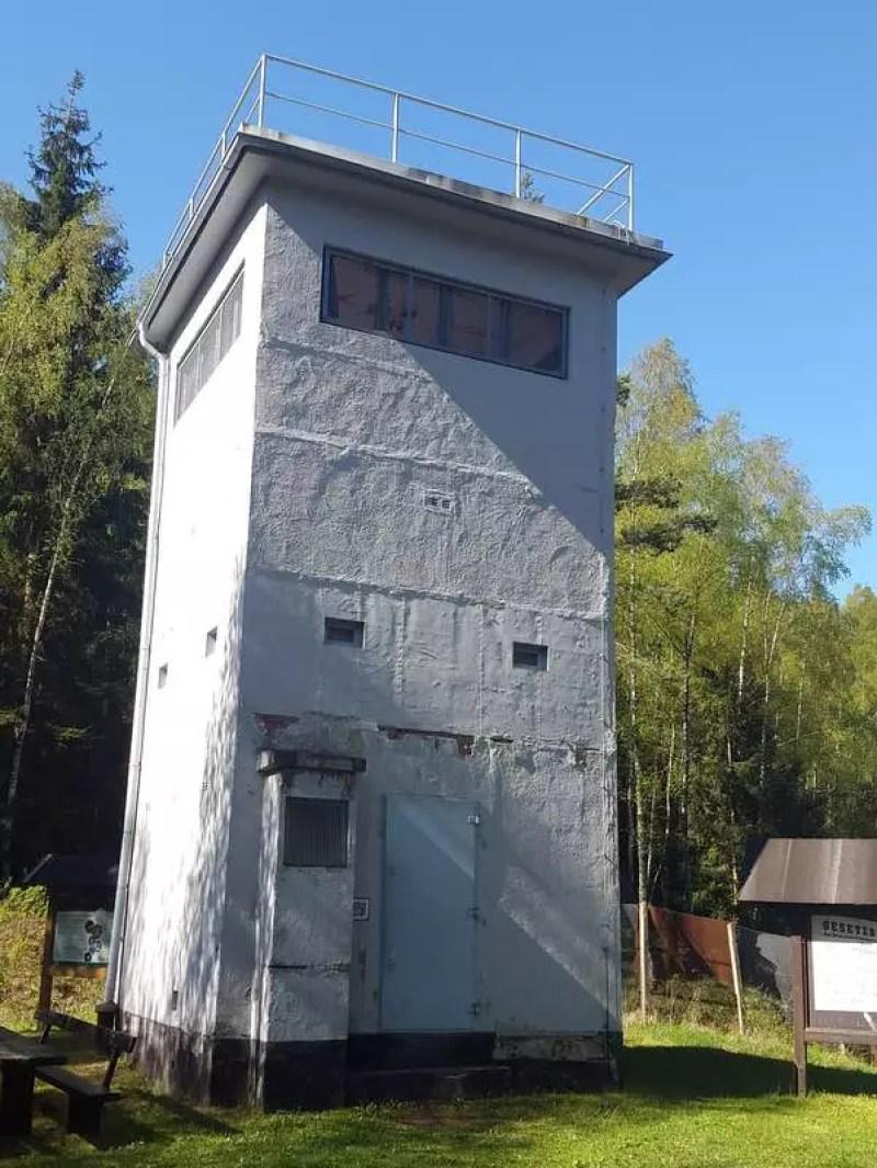 ehemaliger Grenzturm am Schieferpfad bei Probstzella