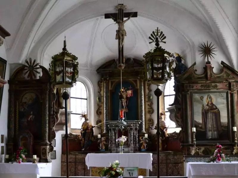 Altar Hohenwerfen