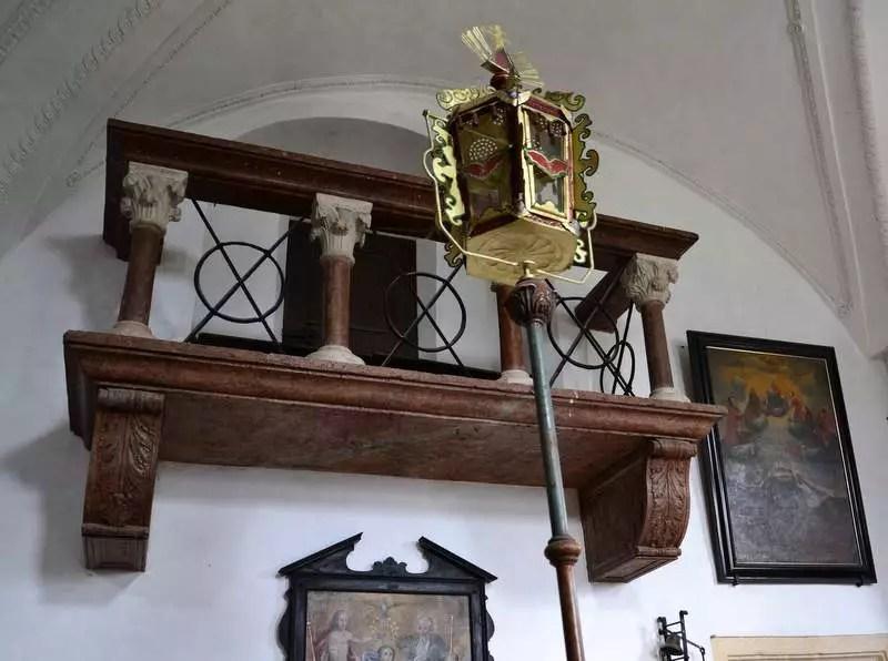 Empore Kapelle Hohenwerfen