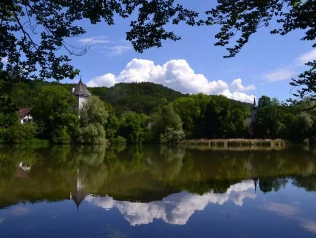 Bilder aus meiner Heimat, Spaziergang um den Teich in Sankt Jakob am Thurn