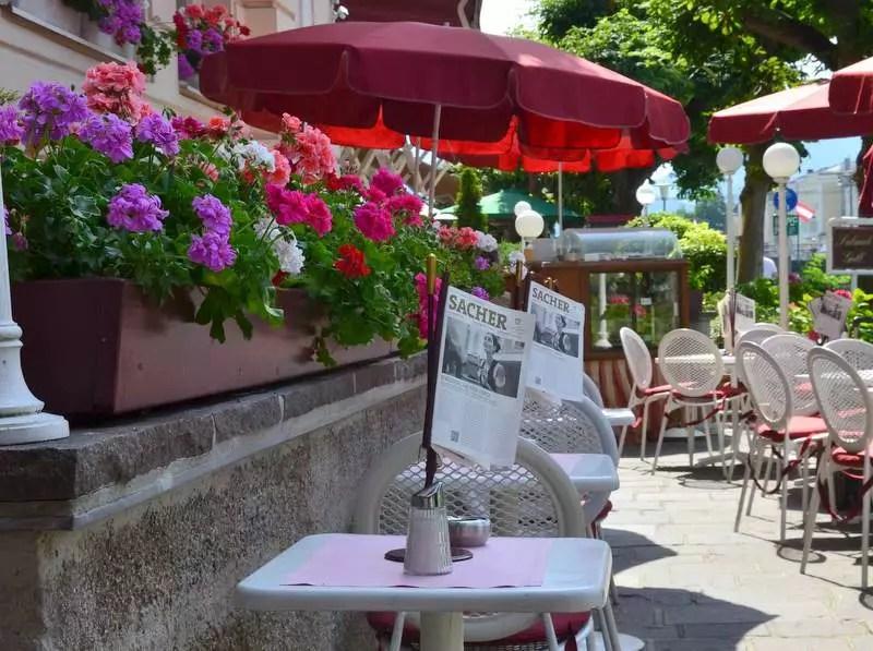 Terrasse am Kai im Hotel Sacher Salzburg