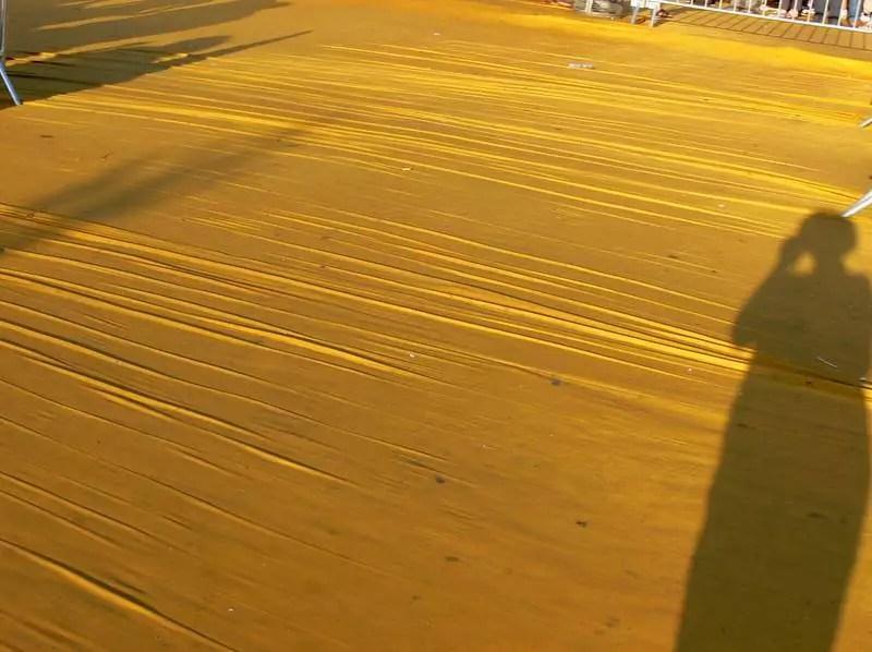 Floating piers Iseosee