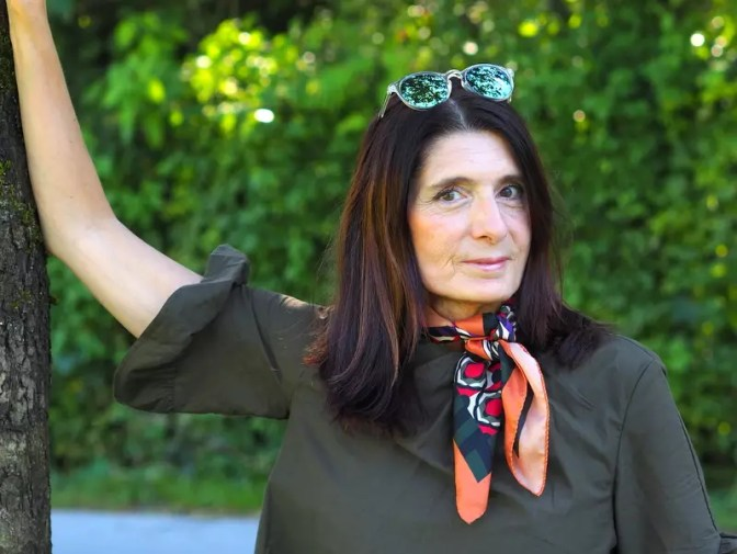 Kleid Zara olive