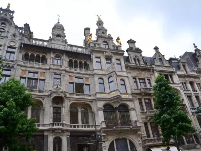 Eklektischer Baustil Antwerpen