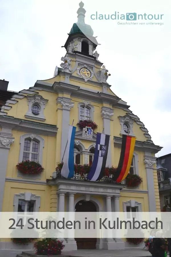 Was einem in 24 Stunden in Kulmbach erwartet.